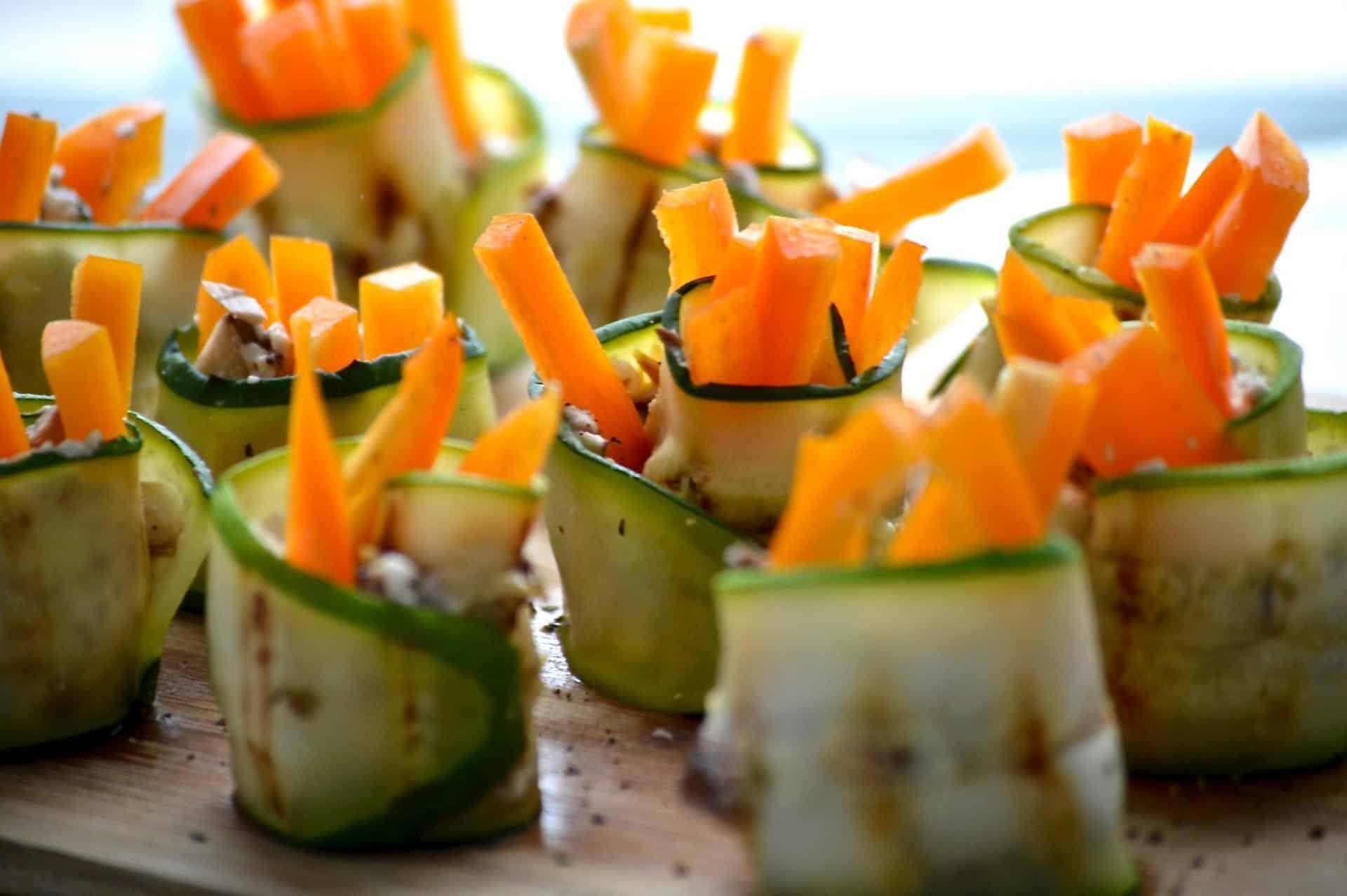 easy zucchini rolls