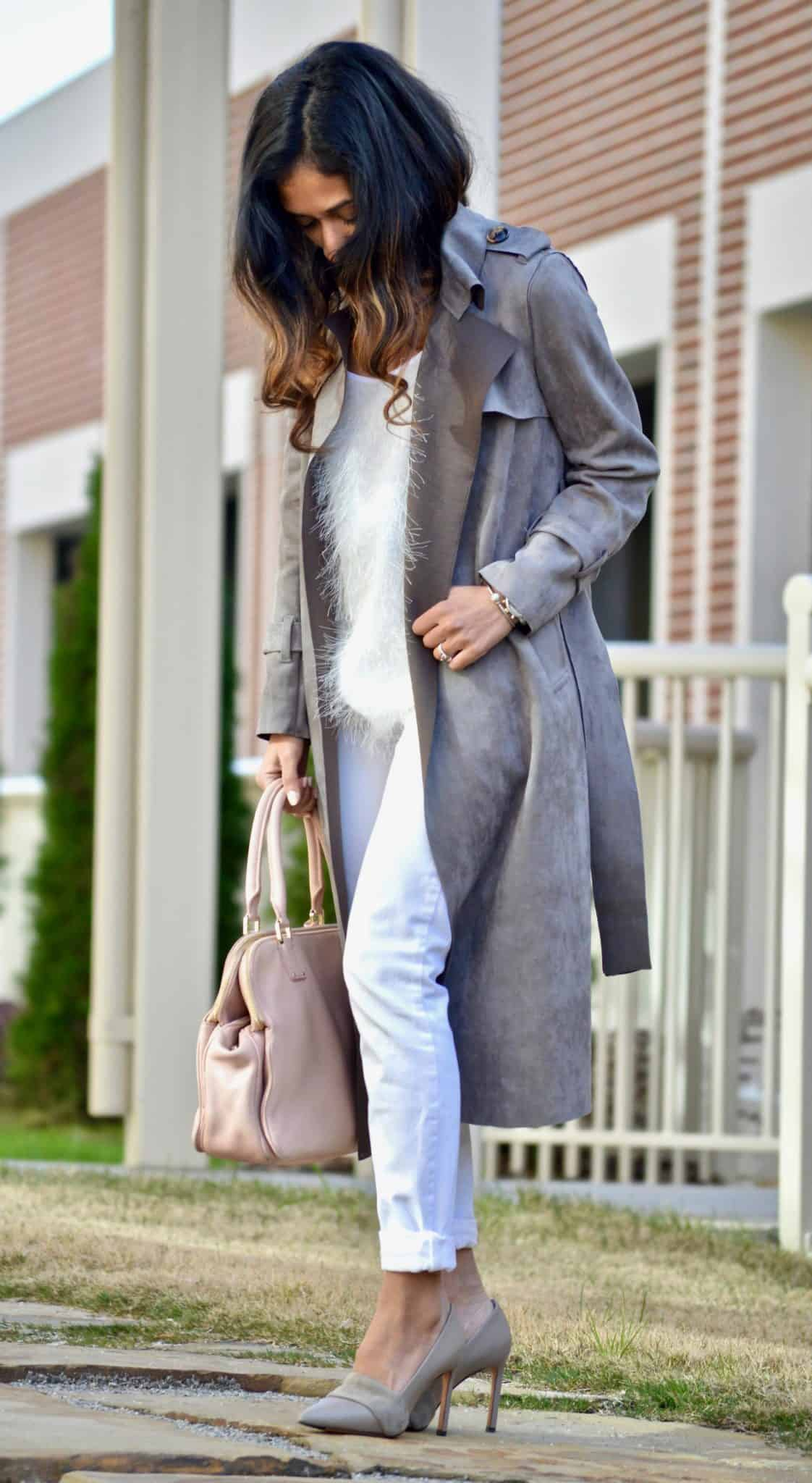 grey white and blush
