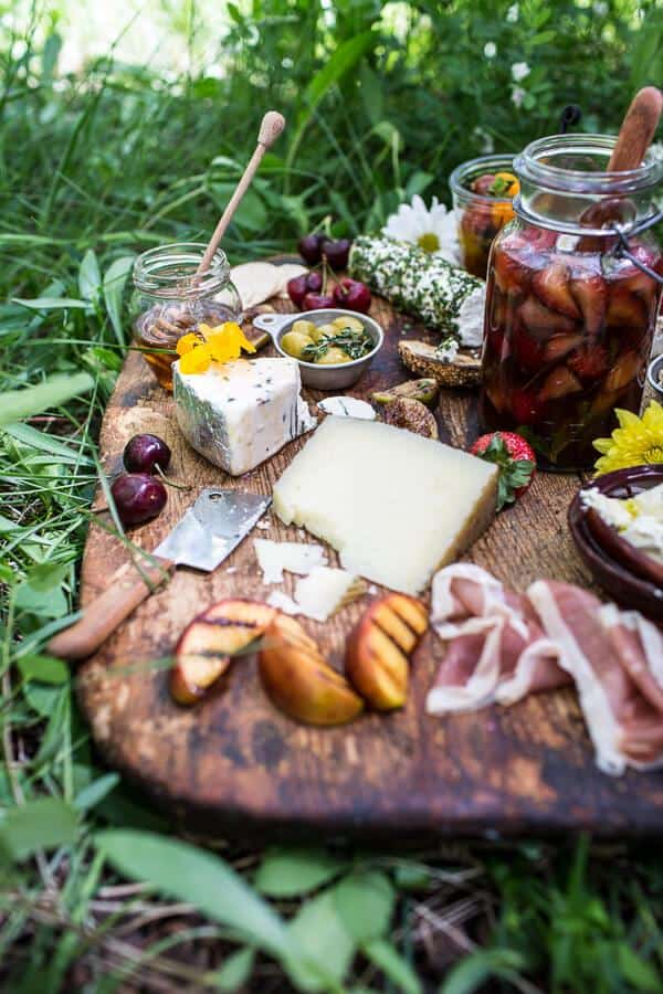 cheese board charcuterie board