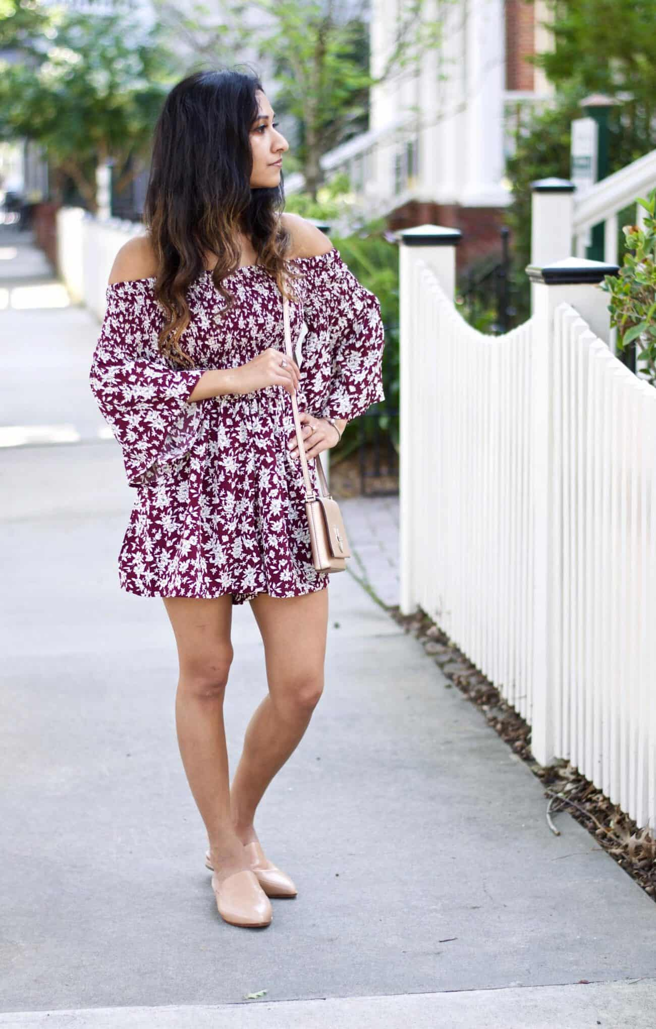 Fall Floral Dress The Best Transitional Piece An
