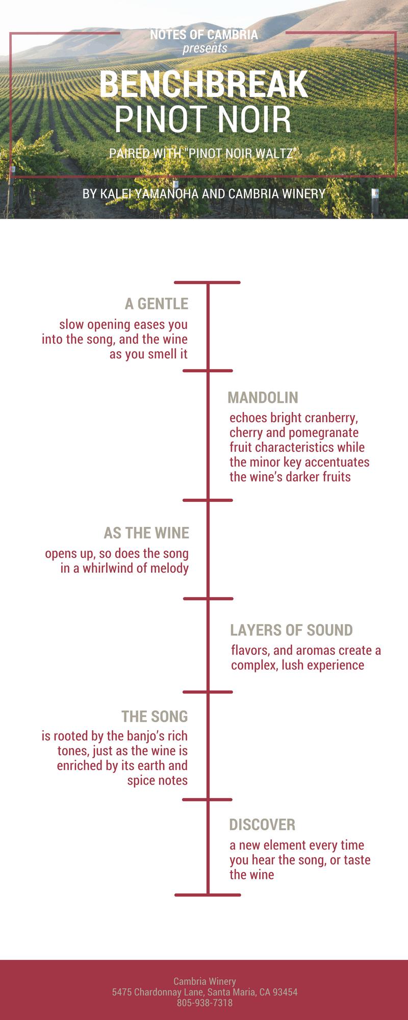 notes of cambria