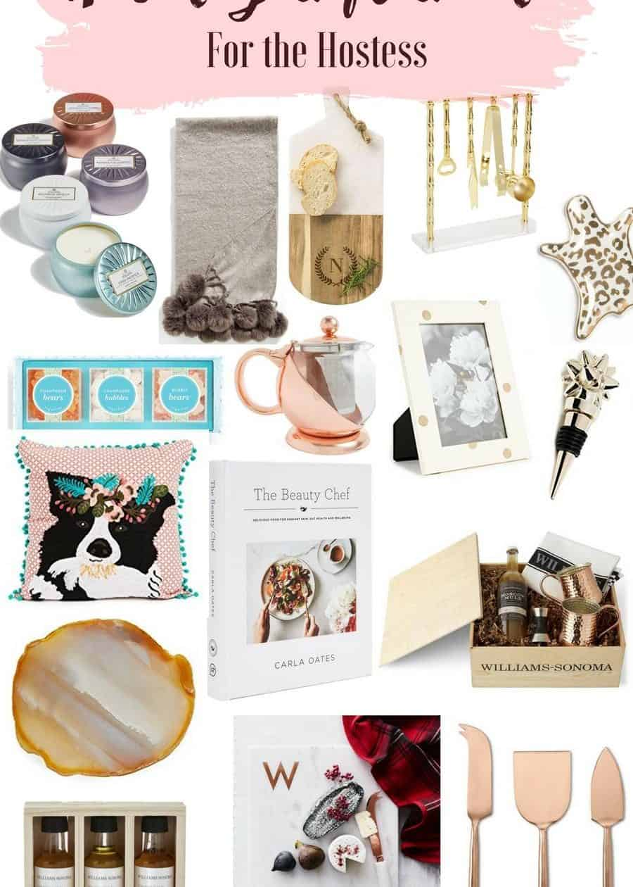 holiday gift guide hostess