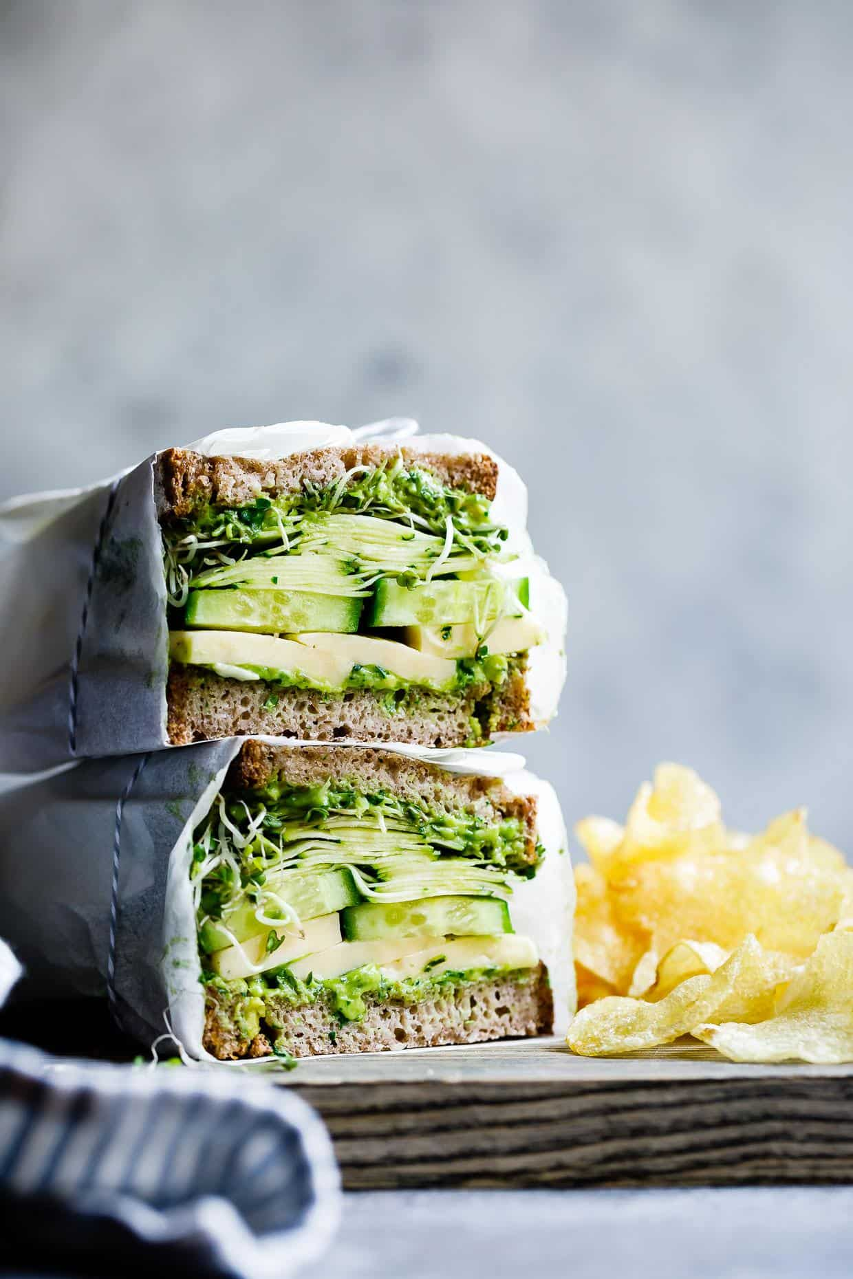Green Sandwich Recipes That Are Veggie Greatness - An Unblurred Lady