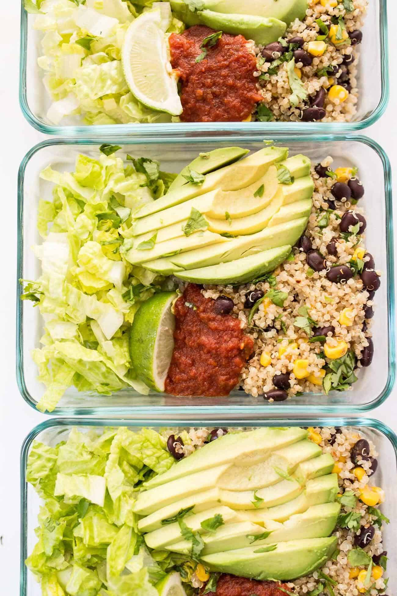 vegetarian meal prep recipes